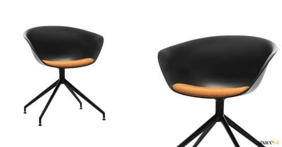 Black meeting chair