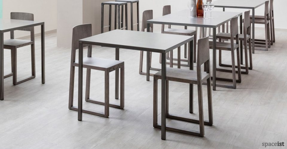 Fabb metal cafe table