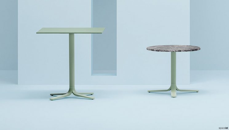 Green tables