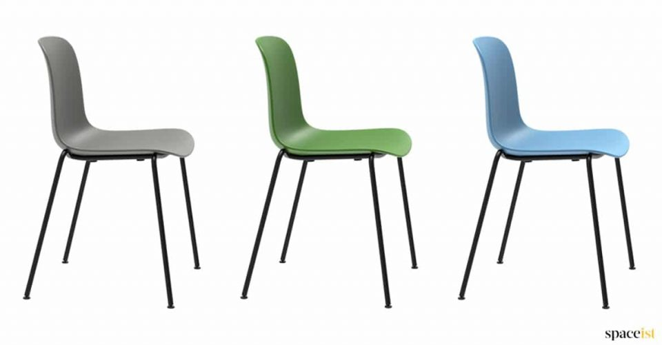 small cafe or school chair stackable