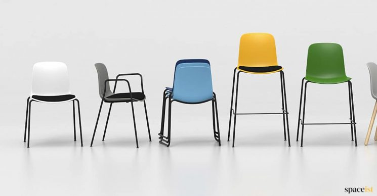 Chair + stool range