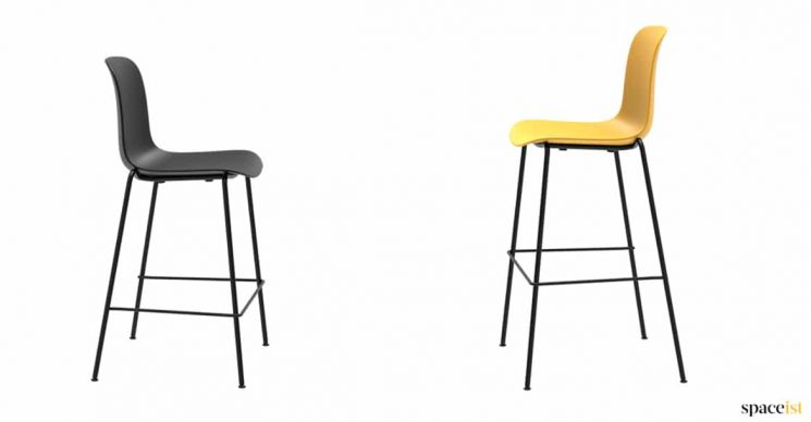 low or high stool yellow
