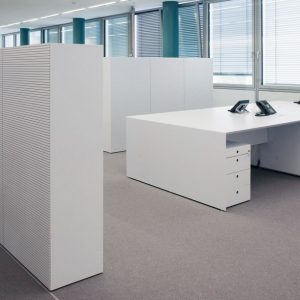 Modern Cabinet with Acoustic Sound Reducing Panels