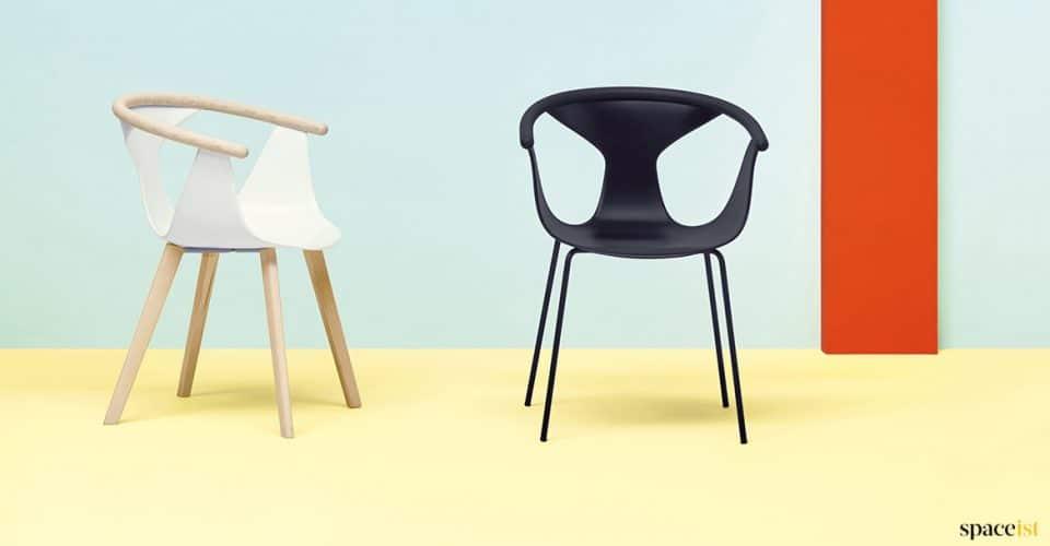 Black chair art-decco
