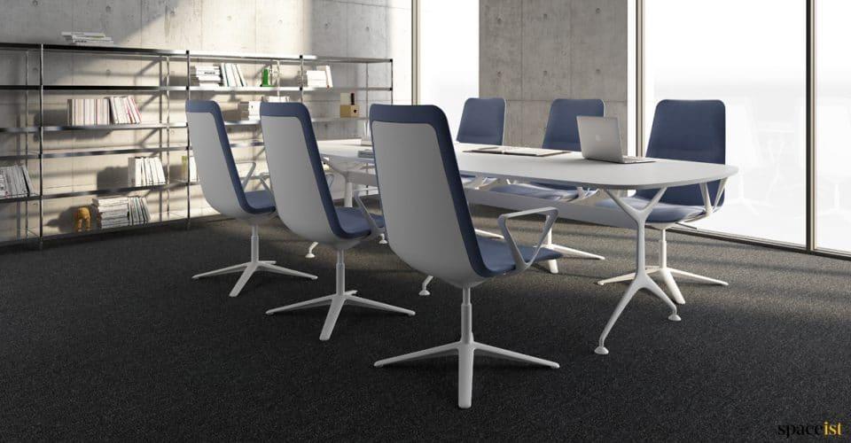 Frame whiteexecutive meeting table
