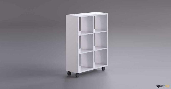 6 box mobile office storage