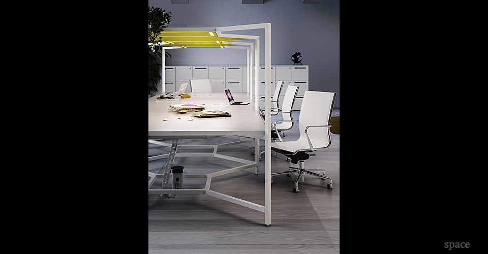 Spaceist-Hub-four-person-desk-canopy