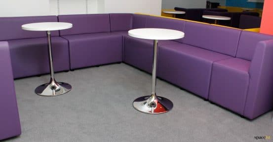 Staff purple seating