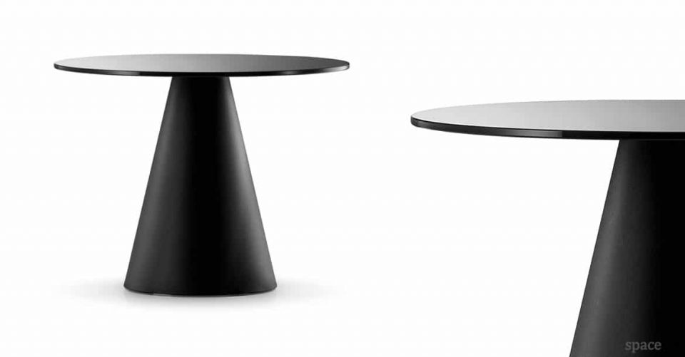 Icon black meeting room table