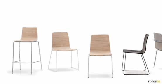 Inga chair + stool range