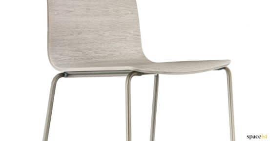 Brass chair closeup