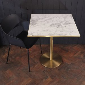 two person marble table