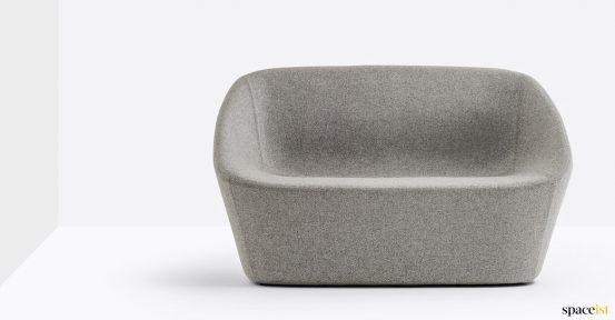Log grey lobby sofa