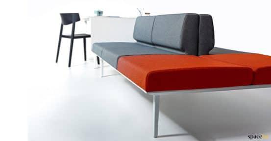 Sofa-desk clasoe up
