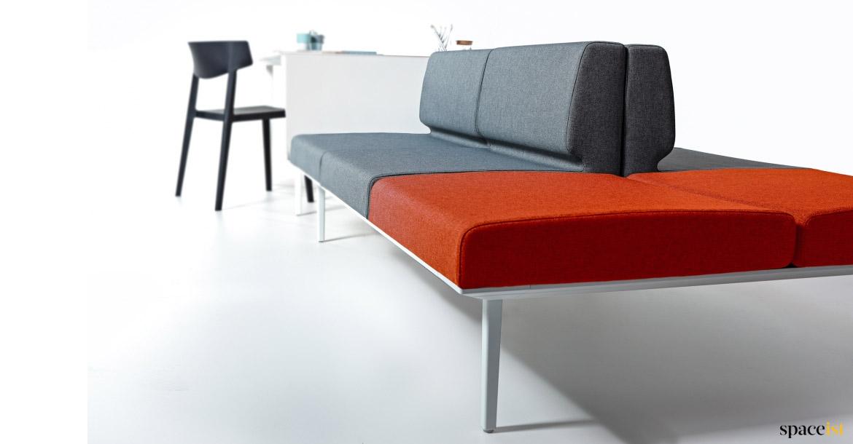 Sofa-Desk | Connected Reception Desk + Sofa - Spaceist ...