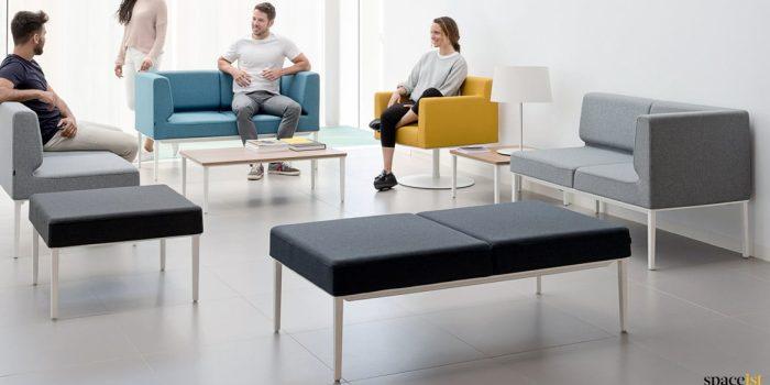 Longi modular compact office reception sofa