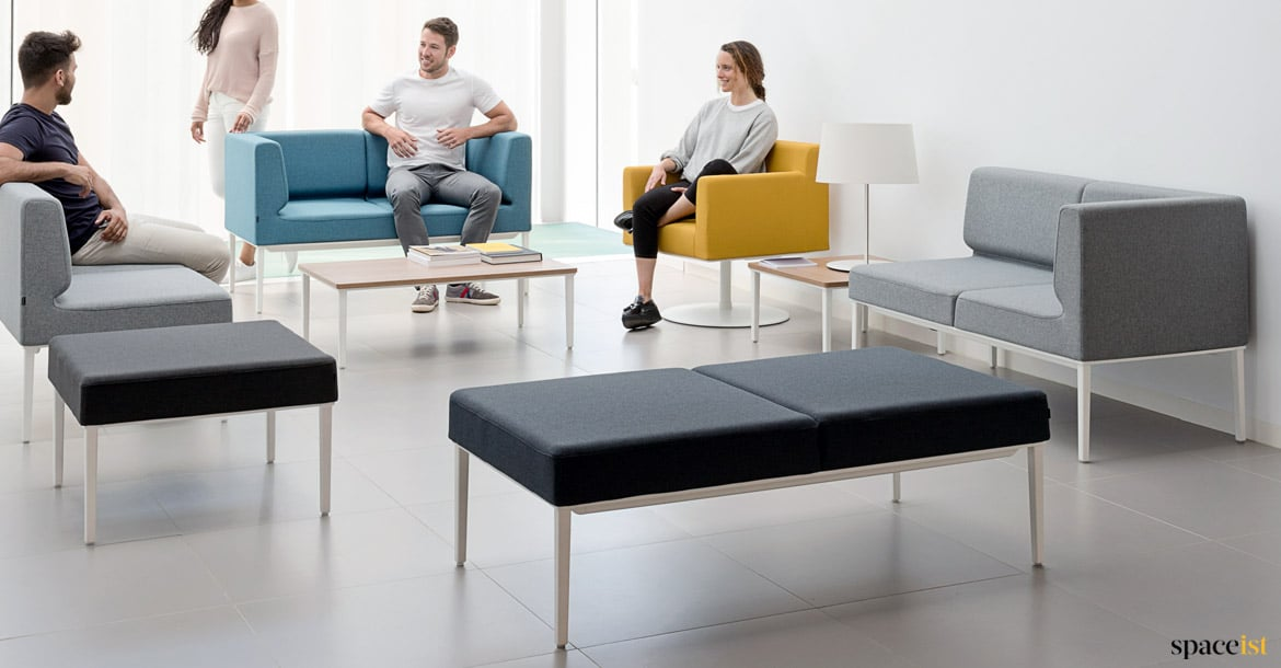 Modular Sofas Longi Compact Sofa Spaceist Reception Furntiure