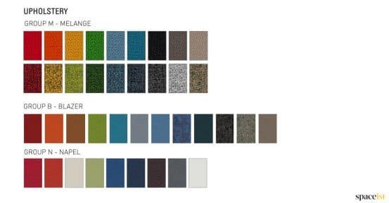 Longi commercial sofa fabric colours