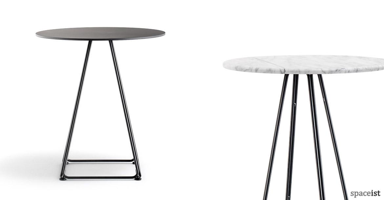 High Bar Tables : Luna High Table