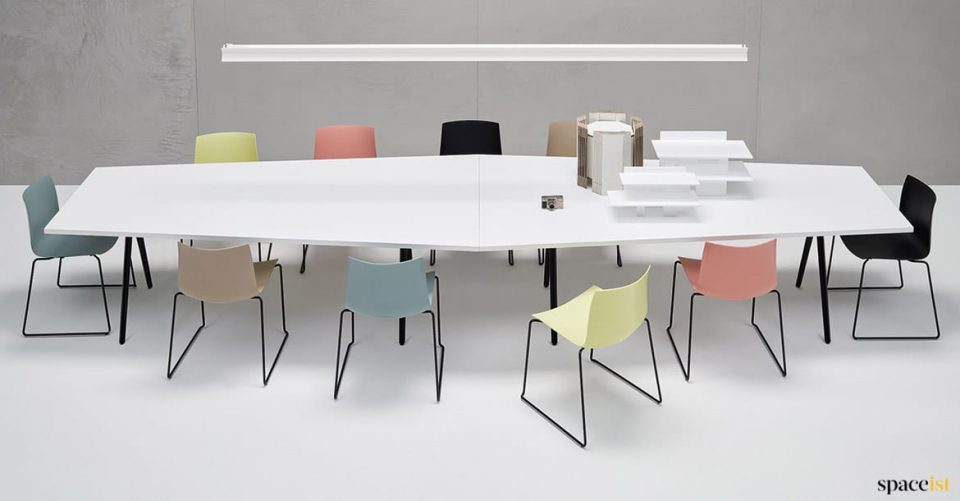14 person meeting table