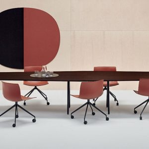 two peice boardroom table