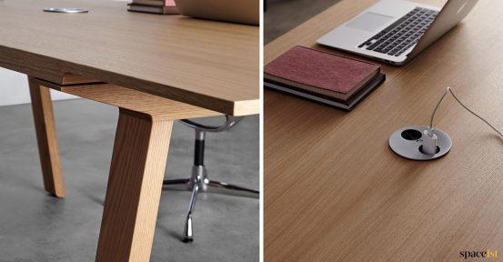 USB socket in meeting table