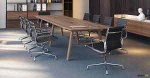 Walnut executive meeting table
