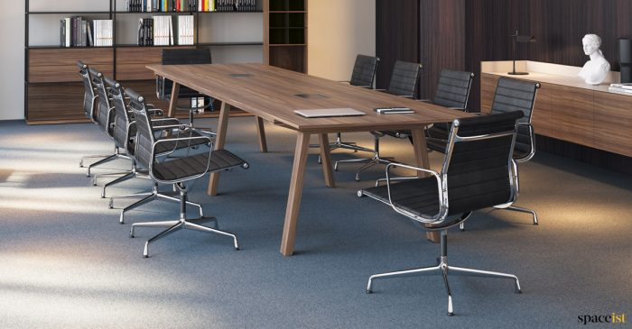 Walnut executive meeting table