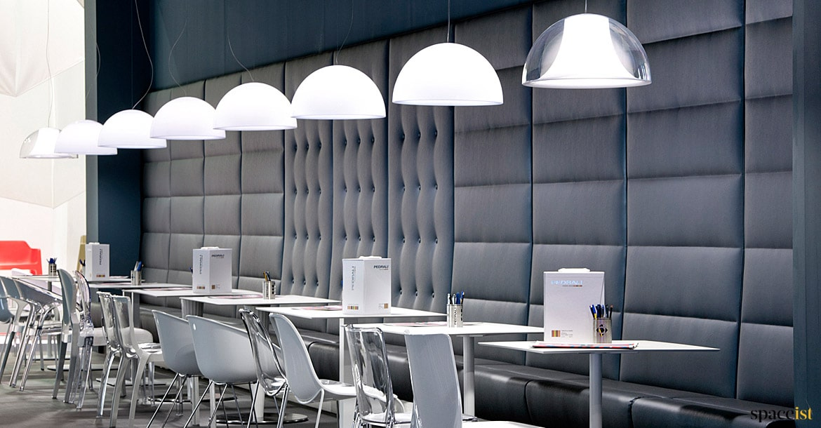Modus Banquette Seating   Paneled - Spaceist Furniture on