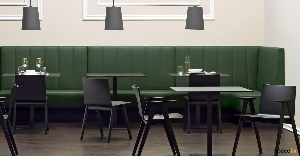 Modus Banquette Seating Green Vinyl Spaceist Furniture