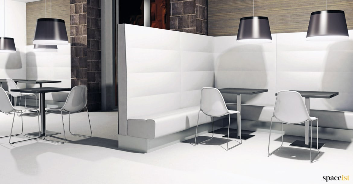 Modus Banquette Seating Black With High Back Spaceist