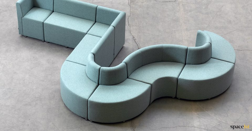 very wavy seating