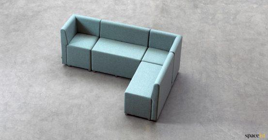 5 seater corner seat