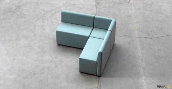 small corner seat