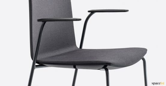 Balck chair arms