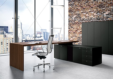 Black Office Cabinets