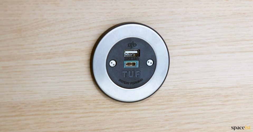 Fast charging USB point