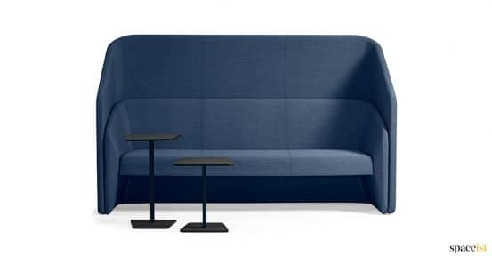 Race high back blue office sofa