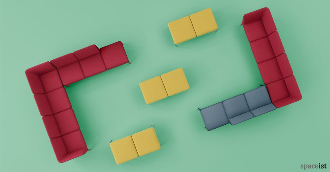 Spaceist Social modualr sofa