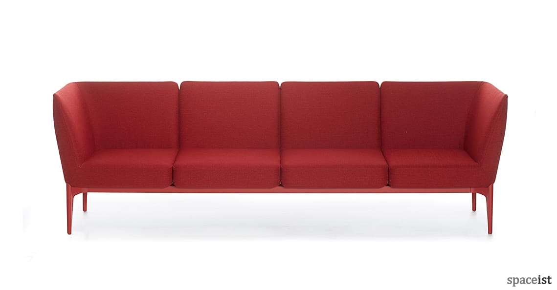 Spaceist Social red office sofa 2