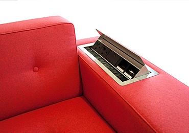 Sofa with Plug Socket