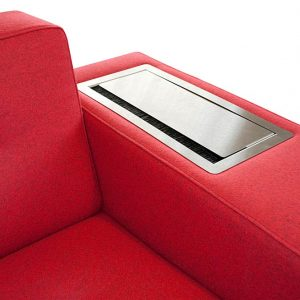 Stainless steel sofa power point