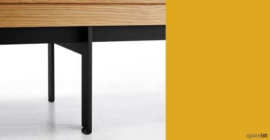 Sussex cabinet black legs closeup