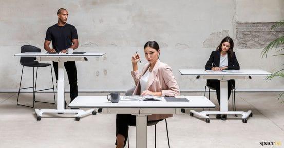 Talent adjustable folding desk