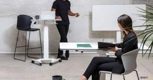 Talent adjustable small desk