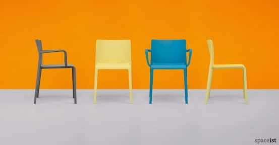 Volt meeting chair in yellow