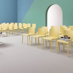 Volt yellow conference chairs