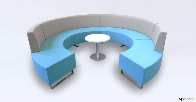 Circular sofa office
