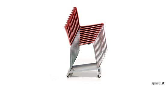 Weet meeting chair trolley