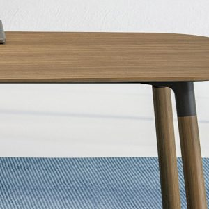 Executive meeting table walnut